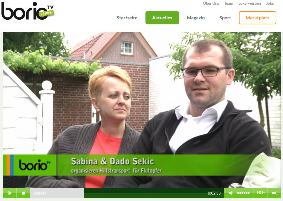 Sabina und Dado Sekic